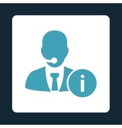 Help desk icon vector image vector image