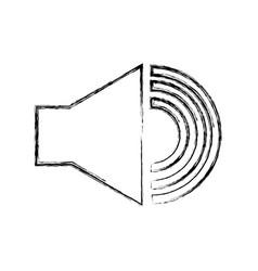 Audio speaker interface menu vector