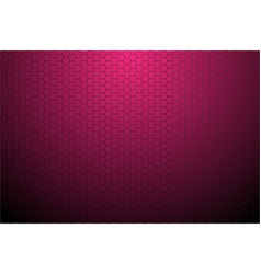 Black hexagonal mesh on pink background vector