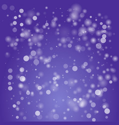 bokeh defocused lights concept design vector image