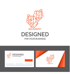 Business logo template for awareness brand vector