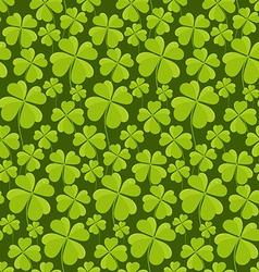 Clovers seamless pattern vector