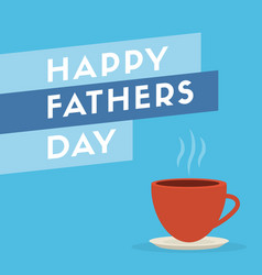fathers day design background card vector image