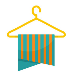 Hanger icon flat style vector