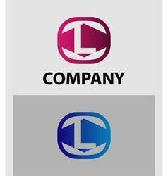 Letter L logo symbol icon vector