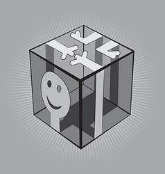 Man Cube vector