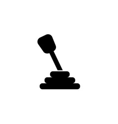 Manual transmission icon vector