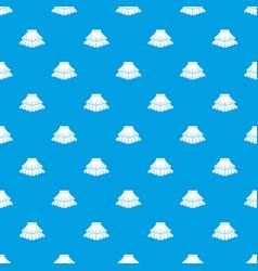 skirt pattern seamless blue vector image