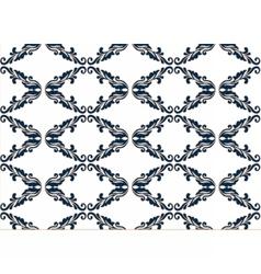 Vintage damask floral style Ornament Pattern vector image