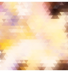 Light abstract polygonal background vector image