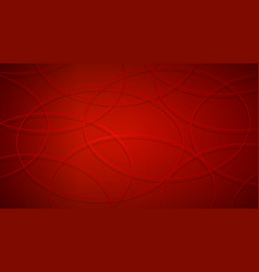 Abstract background of intersecting circles vector