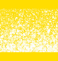 abstract yellow background with dots vector image