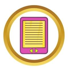 E-book icon vector