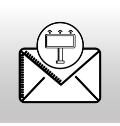 email correspondence concept graphic icon vector image