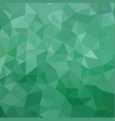 green color polygonal background - pattern vector image