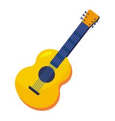 Guitar musical instruments vector