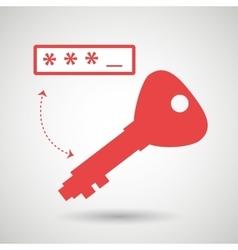 Security password design vector
