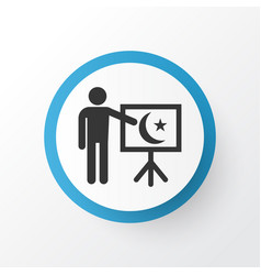 Teaching icon symbol premium quality isolated vector