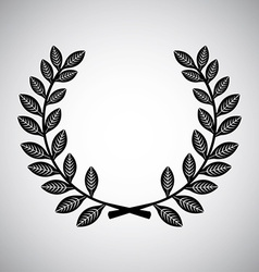 wreath design vector image