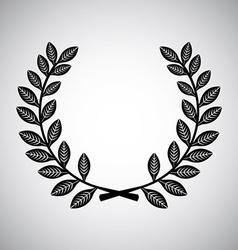 Wreath design vector