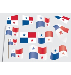 flag of Panama vector image vector image