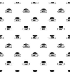 Belt fashion pattern seamless vector