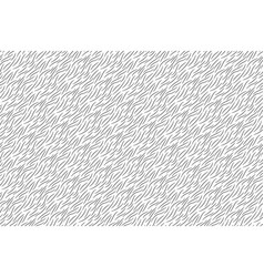 black and white animal wool texture seamless vector image