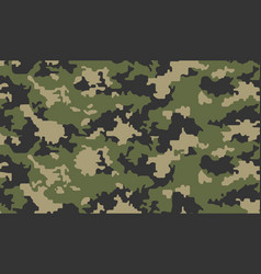 camouflage background army abstract modern vector image