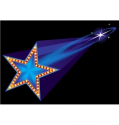 coming star vector image