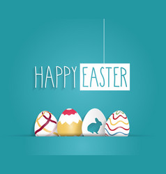 Easter design vector