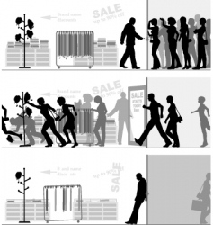 store sale vector image