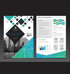 company report brochure templates vector image vector image