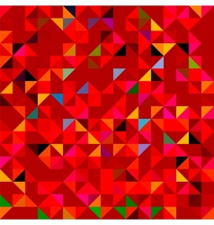 Abstract Red Geometric Color Background vector image vector image