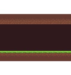 Pixel Game Background vector image vector image