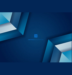 Abstract background blue gradient geometric vector