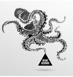 Abstract gothic vector image