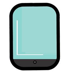 Cartoon tablet vector