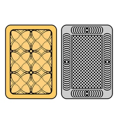design of cards vector image