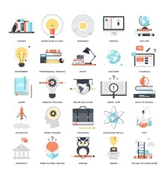 Education and Knowledge vector image