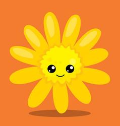 Gobble give thanks flower 09 vector