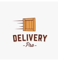 Professional Delivery Abstract Logo vector image