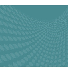 Dots ornate background blue vector image vector image