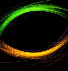 Fusion abstract background flare speed line vector image vector image