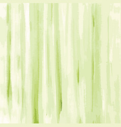 green watercolor texture background striped vector image