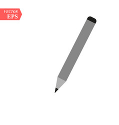 image of pen icon over white background vector image