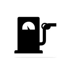 oil pump and petrol nozzle icon concept vector image