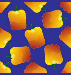pepper seamless pattern vector image