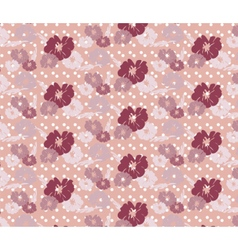 Roses Vintage seamless pattern vector