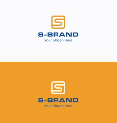S Brand logo vector
