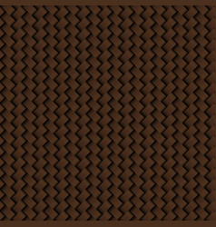 texture of brown leather weave seamless pattern vector image